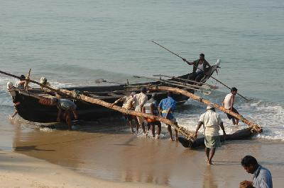 Fishermen in Sheruda