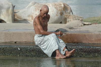 Purification in Pushkar